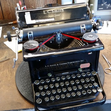 L C Smith and Corona Classic Typewriter – For Sale $459