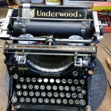 Underwood desktop 5 from the year 1914