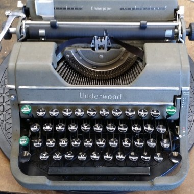 Underwood Champion Portable – 1946