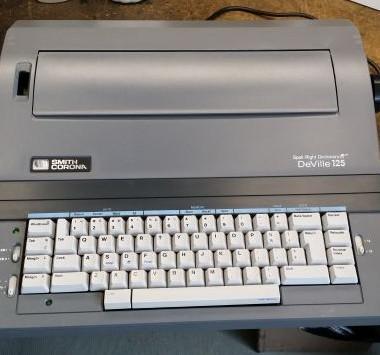 Smith Corona DeVille 125 Wheelwriter – For Sale $185