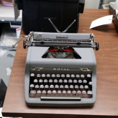 Royal All Gray Quiet DeLuxe from 1951 – SOLD $255