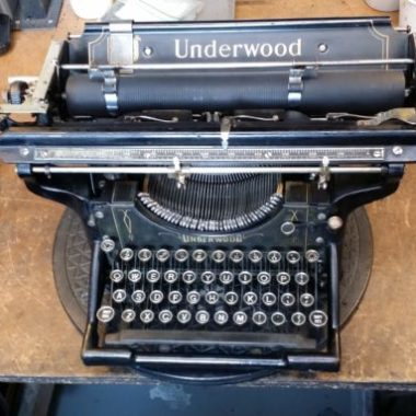 Underwood 3 Wide Carriage from 1926