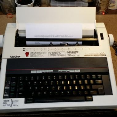 Brother 320 Correctronic Typewriter – SOLD $155