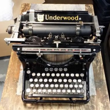 Underwood 6 – Airline Damage – Year 1931