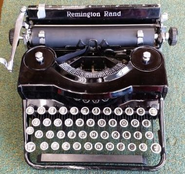 Remington Model 1 Portable Typewriter – SOLD $355