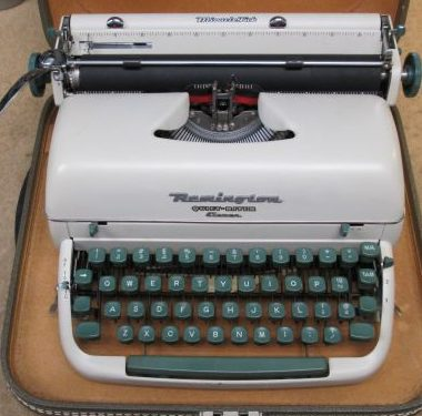 Remington Quiet-Riter from 1958 – SOLD $285