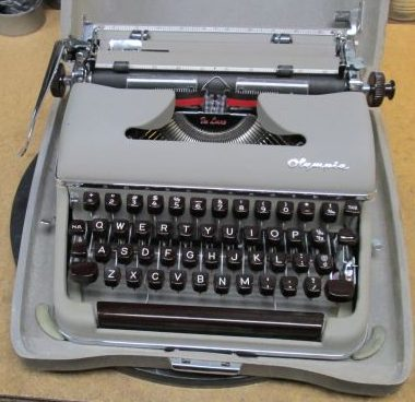 Olympia SM3 Portable Typewriter from 1956 – For Sale $425