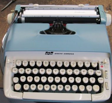 Smith-Corona Galaxie Portable – SOLD! $225