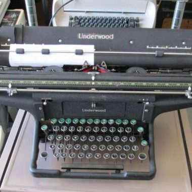 Wide, Very Very Wide Underwood 6 Typewriter is a 20 Inch Wonder