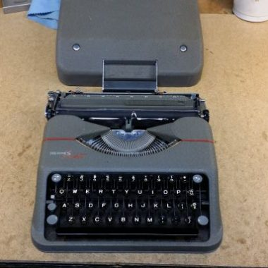 Hermes Rocket Typewriter 1951 – For Sale $455