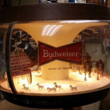 What does Budweiser have to do with Typewriters?
