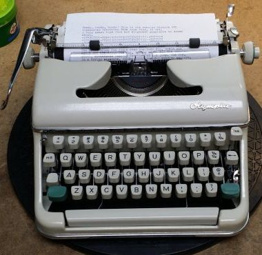 Olympia SM5 Typewriter from 1963 – For Sale $495