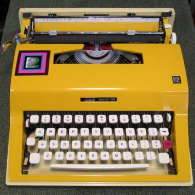 Montgomery Ward Escort 55 Portable Typewriter – SOLD $320