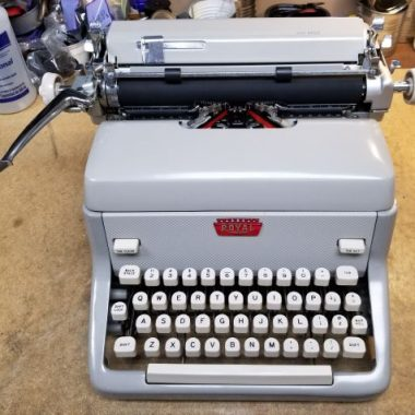 Royal FP Standard Typewriter from 1960 – SOLD $225