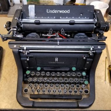 Underwood Master Series from 1938