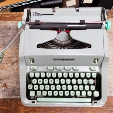 Hermes 3000 Typewriter – For Sale $435