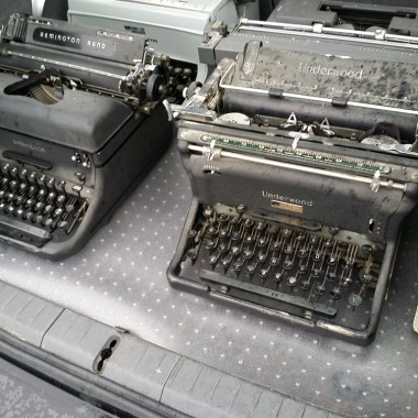 Buying typewriters