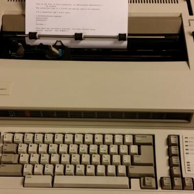 IBM Wheelwriter 2