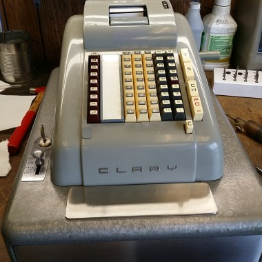 Clary Cash Register (Adding Machine and Cash Drawer)