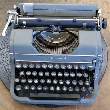 Underwood Champion Portable – For Sale $230