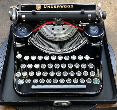 Underwood Universal Portable from 1931