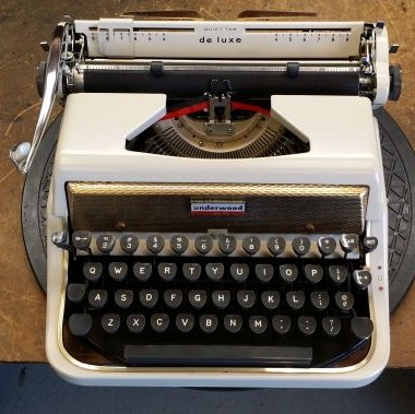 Underwood Golden Touch Portable from 1956