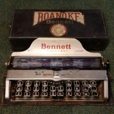 Bennett Portable Typewriter