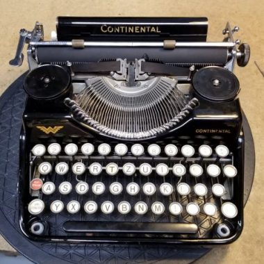 Continental Wanderer Typewriter from the Year 1930