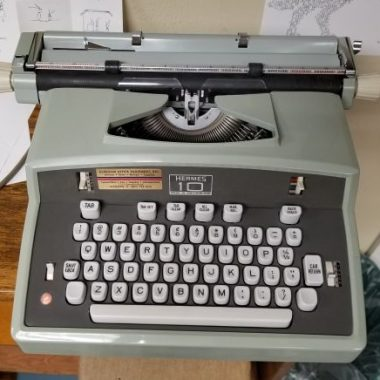 Hermes Model 10 Electric Typewriter – For Sale $485