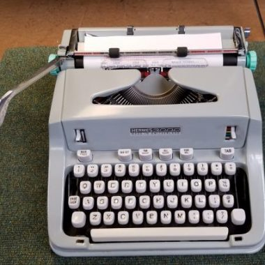 Hermes 3000 Typewriter from 1969 – For Sale $425