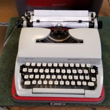 Remington Mark II Typewriter from 1974 – For Sale $275