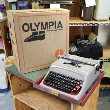 Olympia SM9 Typewriter, New in Box – For Sale $1,500