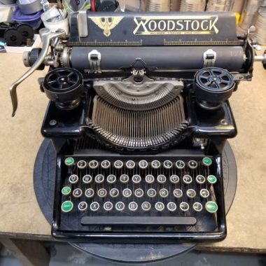 Woodstock Number 5 Typewriter from 1921