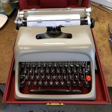 Olivetti Studio 44 from 1956 – For Sale $435