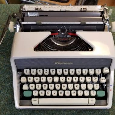 Olympia SM7 Script from 1963 – For Sale