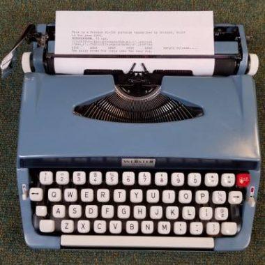 Brother Webster XL-500 Typewriter – For Sale $185